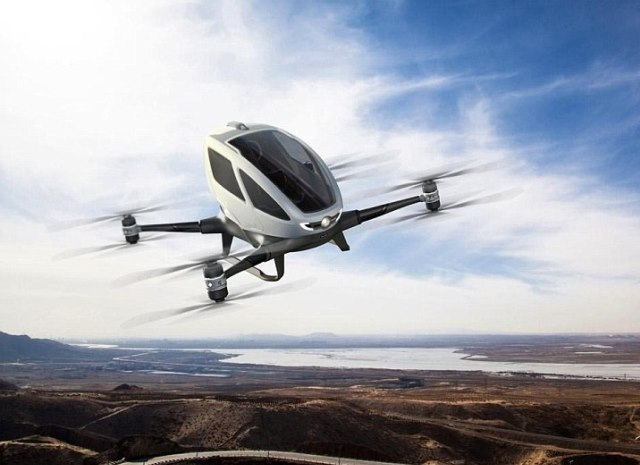 aerial autonomous vehicle dubai